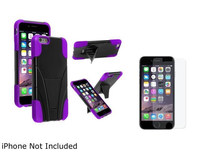 <ul><li><b>1X T-Stand Cover Case compatible with Apple iPhone 6 Plus 5.5, Black/Purple</b></li><li><b> Note: Only compatible with Apple iPhone 6 Plus </b></li><li>Give your device an extra edge by usi