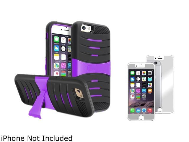 1X Hybrid Case with Stand compatible with Apple iPhone 6 (4.7