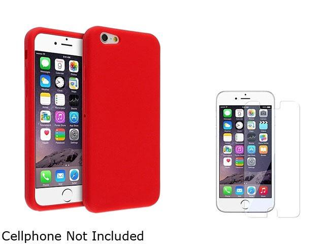 <ul><li><b>1X Skin Case compatible with Apple iPhone 6 4.7, Red</b></li><li><b> Note: NOT compatible with Apple iPhone 6 Plus </b></li><li>Keep your Apple iPhone safe and protected in style with this
