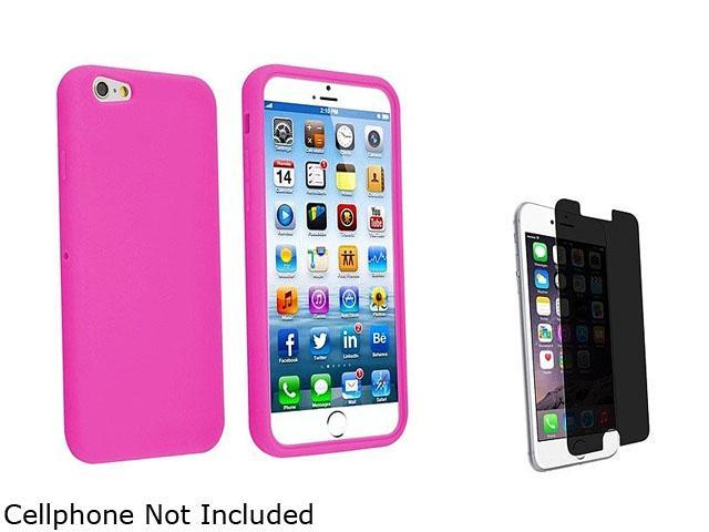 1X Skin Case compatible with Apple iPhone 6 4.7, Hot Pink Note: NOT compatible with Apple iPhone 6 Plus Keep your Apple iPhone safe and protected in style with this silicone accessory