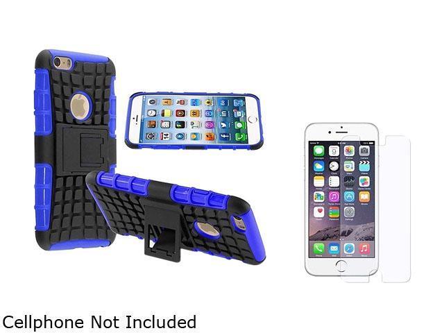 <ul><li><b>1X Hybrid Case with Stand compatible with Apple iPhone 6 4.7, Blue TPU/Black Hard</b></li><li><b> Note: NOT compatible with Apple iPhone 6 Plus </b></li><li>Keep your cell phone protected i