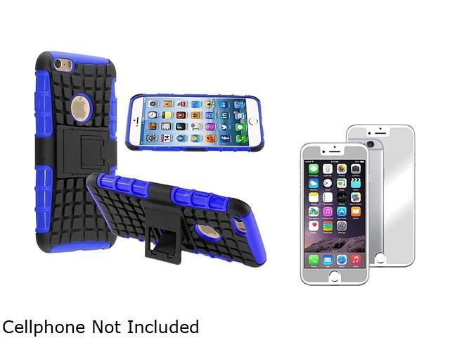 <ul><li><b>1X Hybrid Case with Stand compatible with Apple iPhone 6 4.7, Blue TPU/Black Hard</b></li><li><b> Note: NOT compatible with Apple iPhone 6 Plus </b></li><li>Keep your cell phone protected i