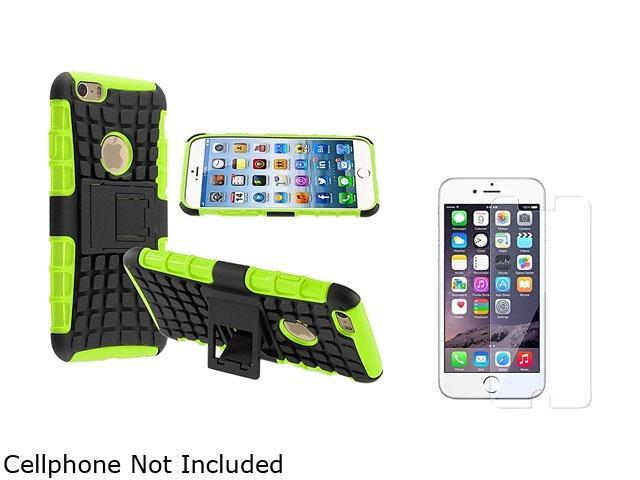 <ul><li><b>1X Hybrid Case compatible with Apple iPhone 6 4.7, Green TPU/Black Hard</b></li><li><b> Note: NOT compatible with Apple iPhone 6 Plus </b></li><li>Keep your cell phone protected in style wi