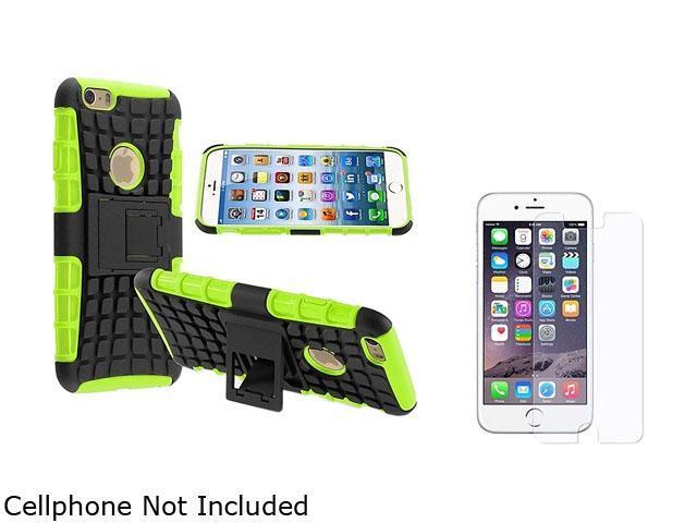 <ul><li><b>1X Hybrid Case compatible with Apple iPhone 6 4.7, Green TPU/Black Hard</b></li><li><b> Note: NOT compatible with Apple iPhone 6 Plus </b></li><li>Keep your cell phone protected in style wi