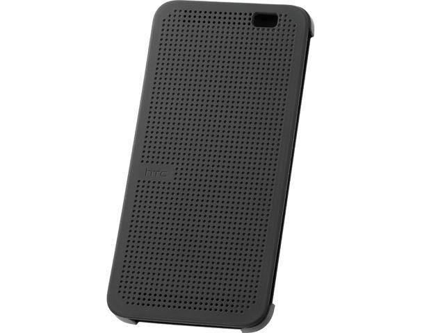 HTC Dot View Warm Black Case for HTC One (E8) 99H11637-00