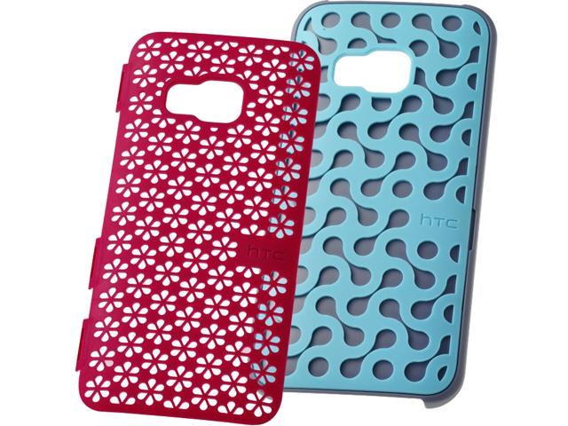 HTC Turquoise Blue/Candy Floss Pink DecoStand Case for HTC One M9 99H20089-00