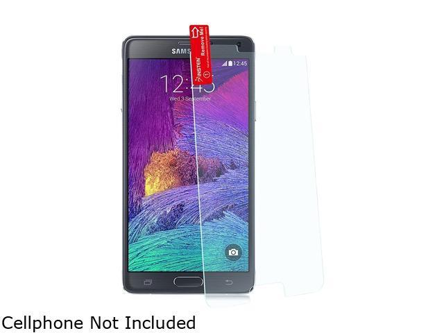 Insten Transparent 2-pack of Tempered Glass Screen Protectors for Samsung Galaxy Note 4 1983216