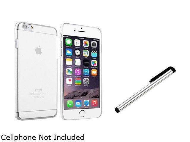 1X Snap-in Slim Case compatible with Apple iPhone 6 4.7, Clear Rear