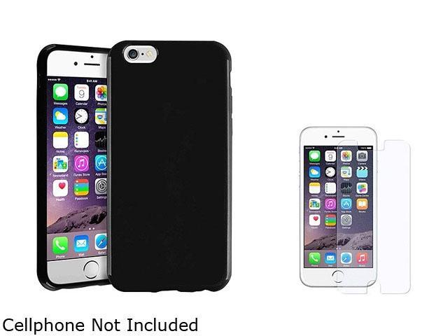 1X TPU Case compatible with Apple iPhone 6 4.7, Black Jelly Note: NOT compatible with Apple iPhone 6 Plus Keep your cell phone protected in style with this TPU rubber skin case accessory Color