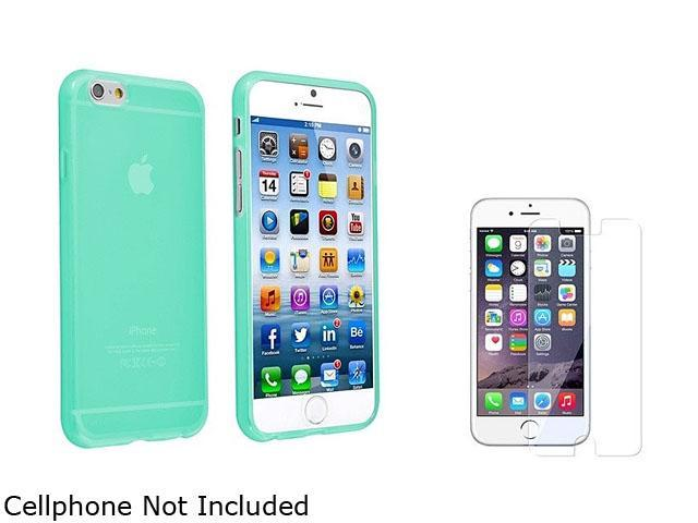 1X TPU Case compatible with Apple iPhone 6 4.7, Clear Neon Green Note: NOT compatible with Apple iPhone 6 Plus Keep your cell phone protected in style with this TPU rubber skin case accessory