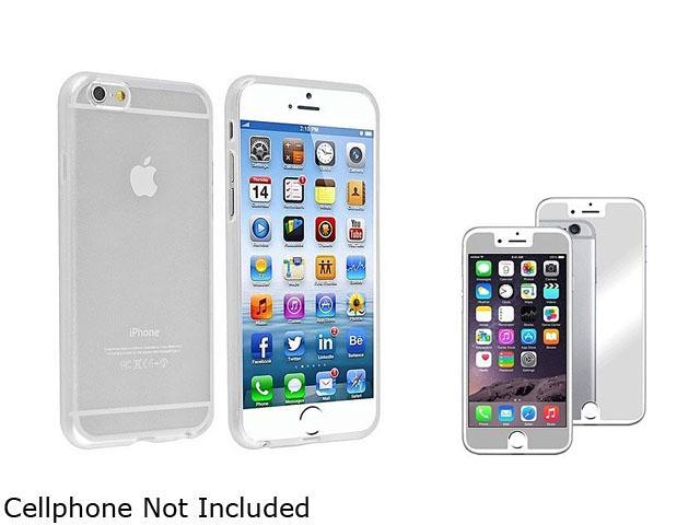1X TPU Case compatible with Apple iPhone 6 4.7, Clear Note: NOT compatible with Apple iPhone 6 Plus Keep your cell phone protected in style with this TPU rubber skin case accessory
