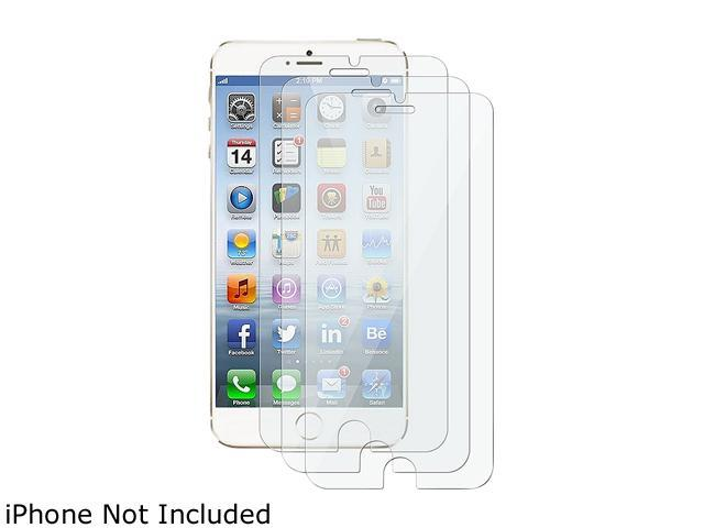 Insten Transparent 3pcs-set Matte Anti-Glare Screen Protector Shield for Apple iPhone 6 (4.7-inch) 1923769