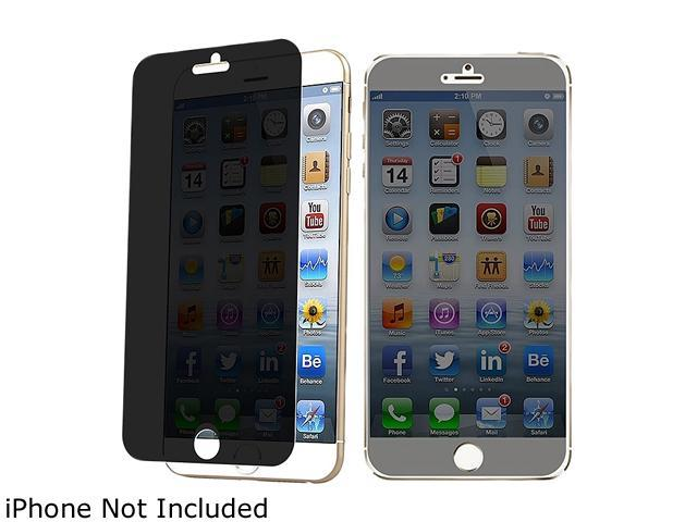 Insten Transparent Privacy Anti-Spy Screen Protector Shield for Apple iPhone 6 (4.7-inch) 1923773