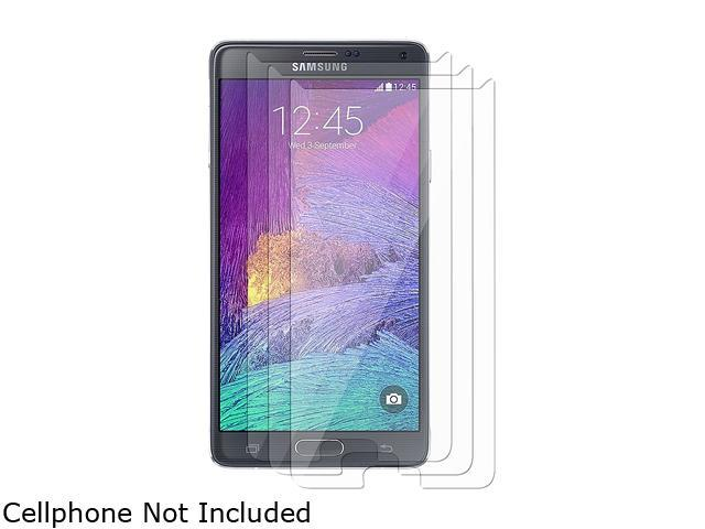 Insten Transparent 3-Pack Clear Screen Protector for Samsung Galaxy Note 4 1957503