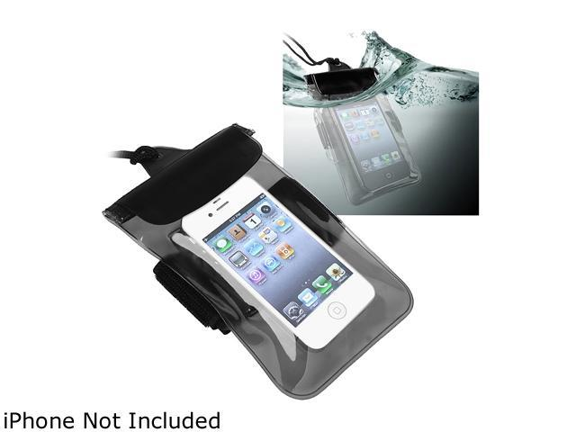 Insten Clear Black Waterproof Underwater Pouch Bag Case Cover for Samsung Galaxy Note 4 1957863