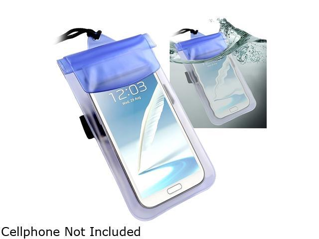 Insten Blue Waterproof Underwater Pouch Bag Case Cover for Samsung Galaxy Note 4 1957865