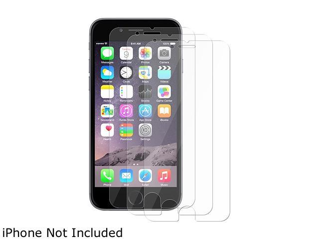 Insten Transparent 3-Pack Reusable Screen Protector For Apple iPhone 6 Plus (5.5