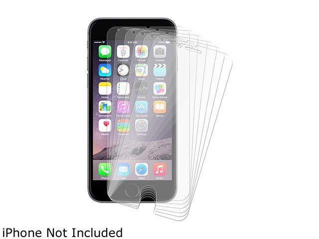 Insten Transparent 6-Pack Reusable Screen Protector For Apple iPhone 6 Plus (5.5