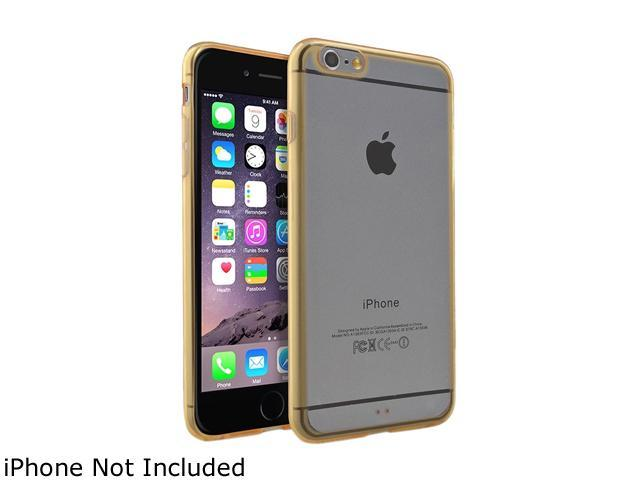 Insten Clear / Gold Bumper Snap-in Case Cover for Apple iPhone 6 Plus (5.5-inch) 1963895