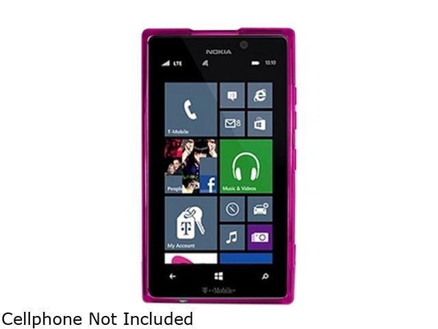 Insten Purple TPU Rubber Case Cover for Nokia Lumia 925 1761504