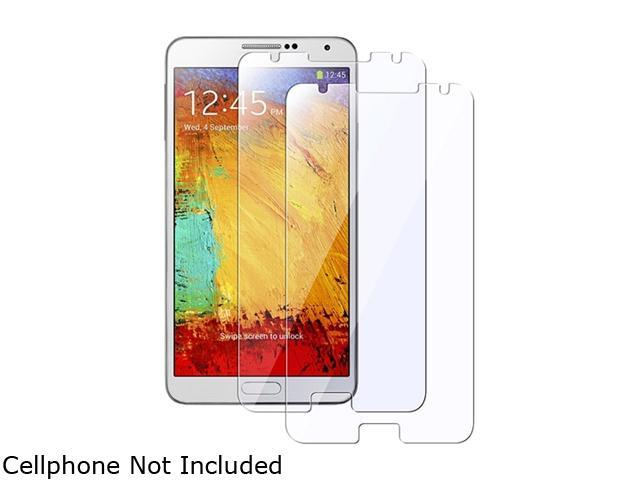 Insten Transparent 2-piece Set Reusable Screen Protector for Samsung Galaxy Note III Note 3 N9000 1830427