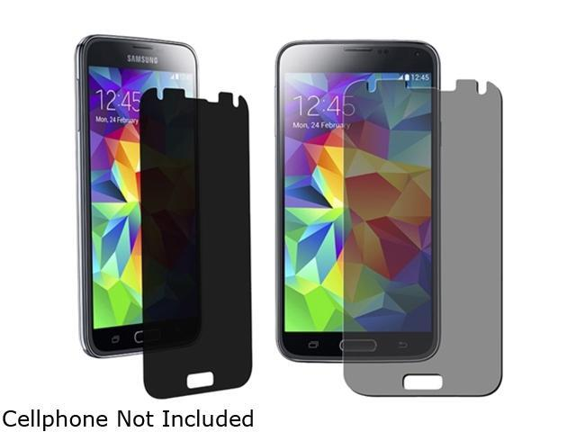 Insten Transparent 5-Pack Privacy Screen Protector for Samsung Galaxy S5 / SV 1842309