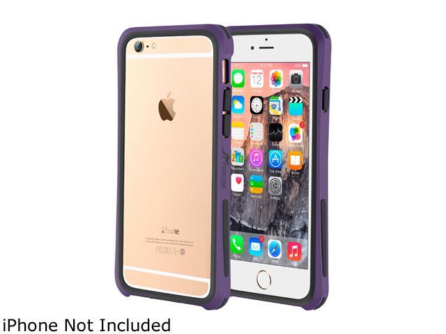 roocase Ultra Slim Fit Linear Bumper Case Cover for Apple iPhone 6 / 6S 4.7-inch, Purple