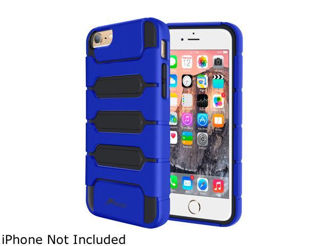 roocase Slim Fit XENO Armor Hybrid TPU PC Case Cover for Apple iPhone 6 / 6S 4.7-inch, Dark Blue