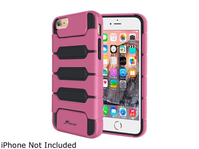 roocase Slim Fit XENO Armor Hybrid TPU PC Case Cover for Apple iPhone 6 / 6S 4.7-inch, Pink