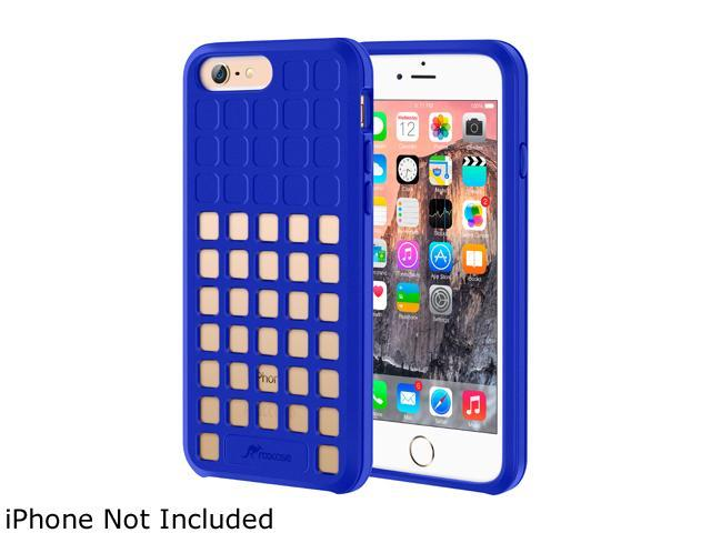 roocase Slim Fit Quadric TPU Case Protective Cover for Apple iPhone 6 / 6S 4.7-inch, Dark Blue
