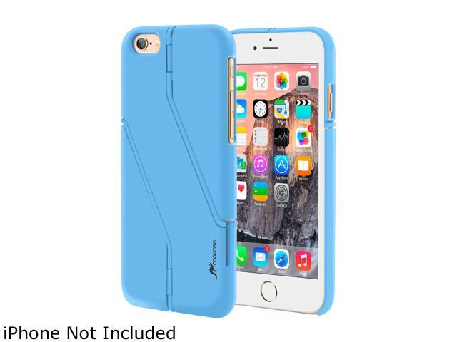 roocase Slim Fit Switchback Kickstand Case Cover for Apple iPhone 6 / 6S 4.7-inch, Blue