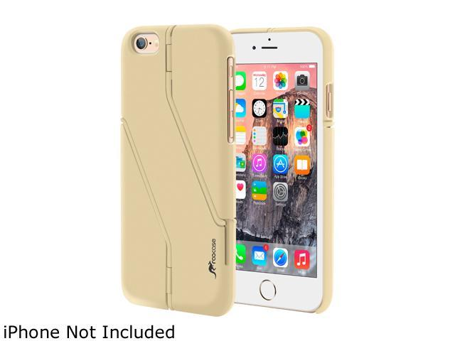 roocase Slim Fit Switchback Kickstand Case Cover for Apple iPhone 6 / 6S 4.7-inch, Champagne Gold