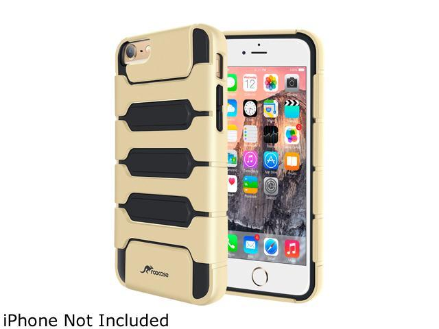 roocase Slim XENO Armor Hybrid TPU PC Case Cover for Apple iPhone 6 Plus / 6S Plus 5.5-inch, Gold
