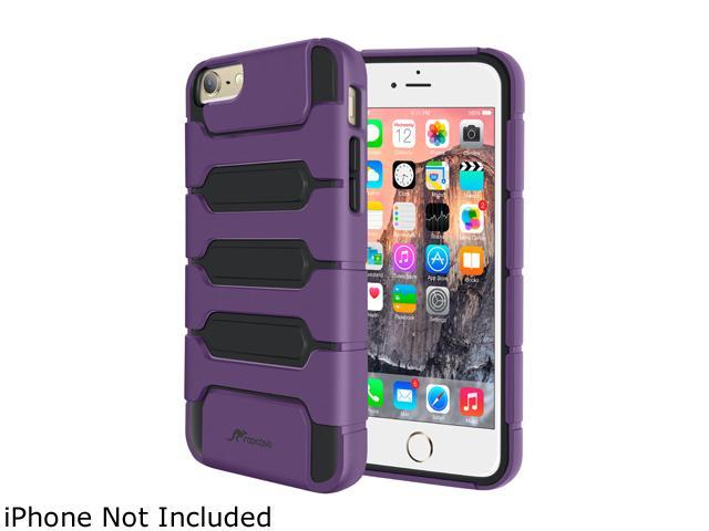 roocase Slim XENO Armor Hybrid TPU PC Case Cover for Apple iPhone 6 Plus / 6S Plus 5.5-inch, Purple