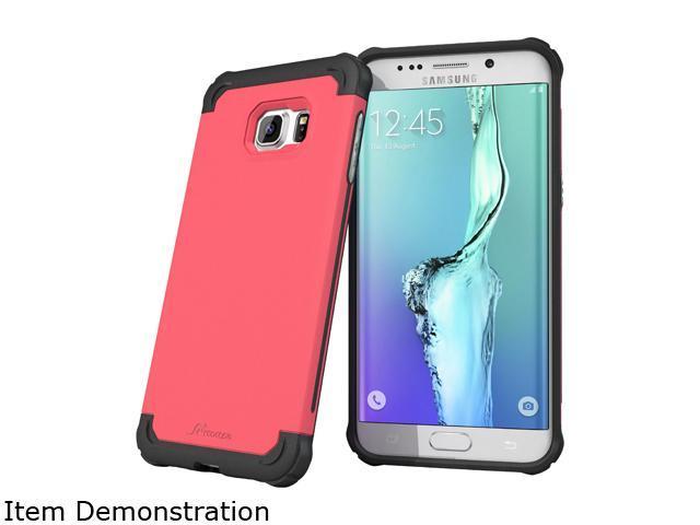 rooCASE Exec Tough Coral Pink Case for Samsung Galaxy S6 Edge+ RC-SAM-S6EP-ET-PI