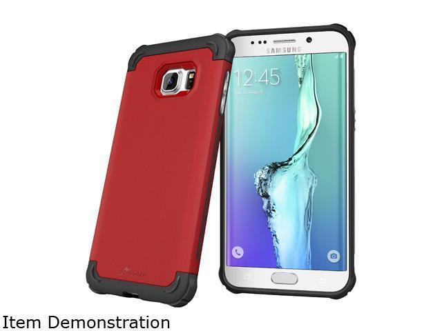 rooCASE Exec Tough Carmine Red Case for Samsung Galaxy S6 Edge+ RC-SAM-S6EP-ET-RD