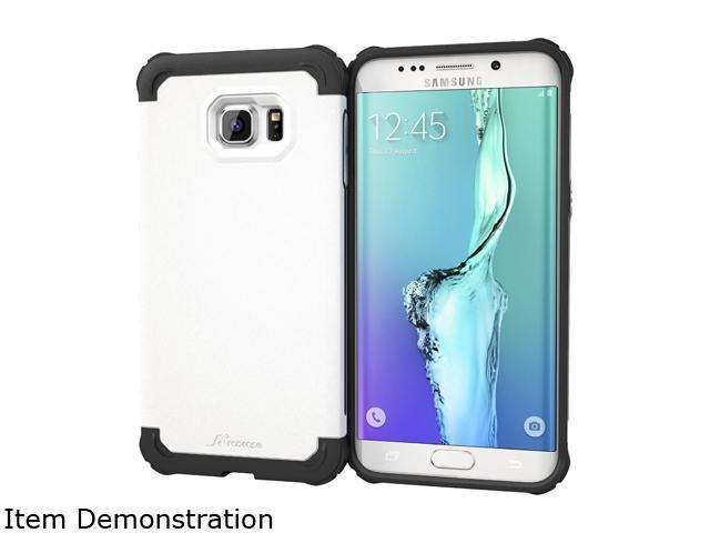 rooCASE Exec Tough Arctic White Case for Samsung Galaxy S6 Edge+ RC-SAM-S6EP-ET-WH