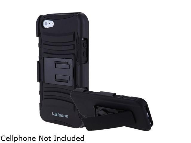 i-Blason Prime Series Black Apple iPhone 5C  Holster Case with Kick Stand and Belt Clip iPhn5c-Prime-Black