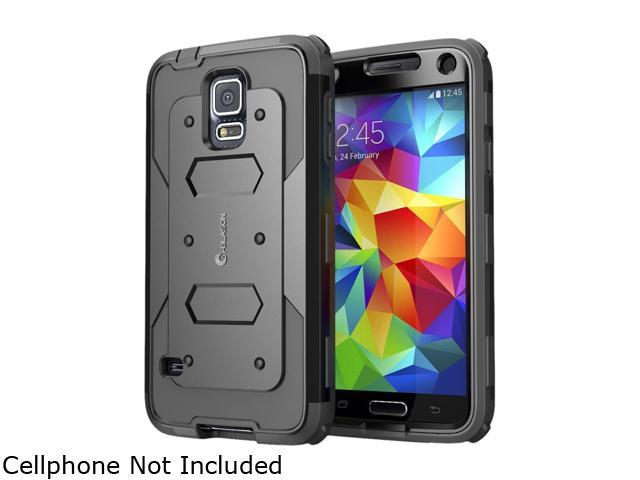 i-Blason Black Samsung Galaxy S5 Smartphone Case GalaxyS5-Armorbox-Black
