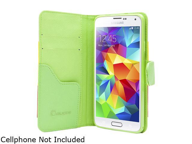 i-Blason Hue Samsung Galaxy S5 Smartphone Case GalaxyS5-LeatherBook-Colors