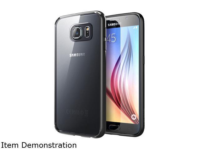 i-Blason Halo Clear/Black Samsung Galaxy S6 Case Galaxy-S6-Halo-Clear Black