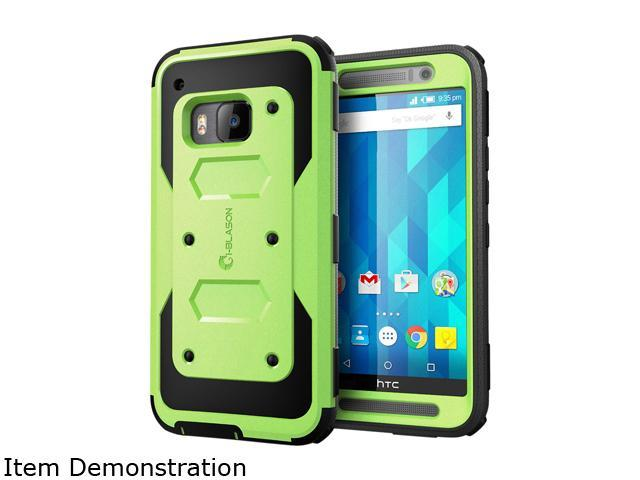 i-Blason Armorbox Green HTC One M9 Case HTCOne-M9-Armorbox-Green