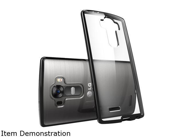 i-Blason Clear/Black LG G4 Case LG-G4-Halo-Clear-Black