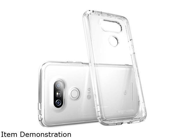 i-Blason Halo Black LG G5 Scratch Resistant Hybrid Clear Case LG-G5-Halo-Black