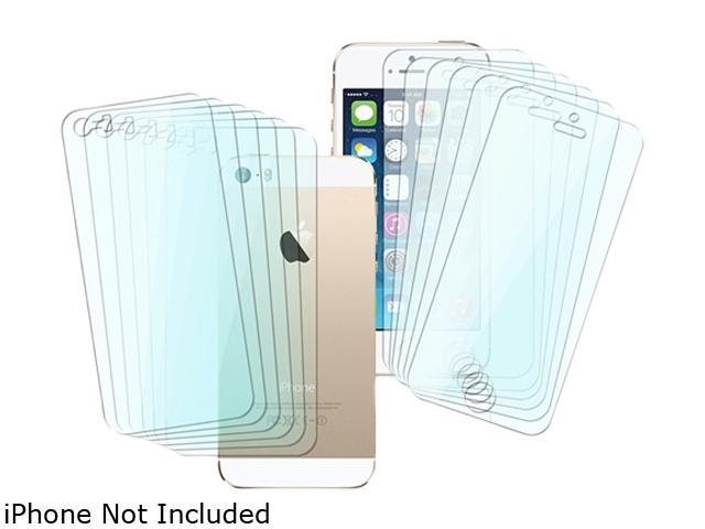 Insten Transparent 6 Sets Full Body Front Back LCD Screen Protector Film Shield Guard Cover Compatible with iPhone 5/5S1613115