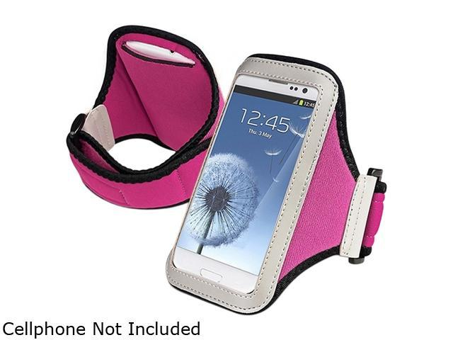 Insten Hot Pink Sportband Compatible with Motorola Moto X / Moto G 1646124
