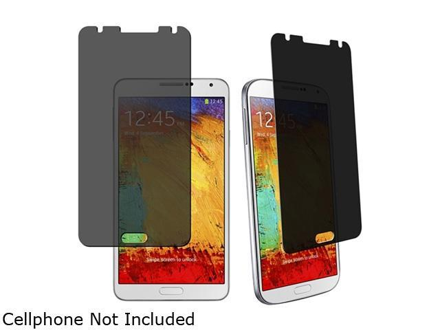 Insten Clear 3 packs of Privacy Screen Covers Compatible with Samsung Galaxy Note III Note 3 N9000 1457832