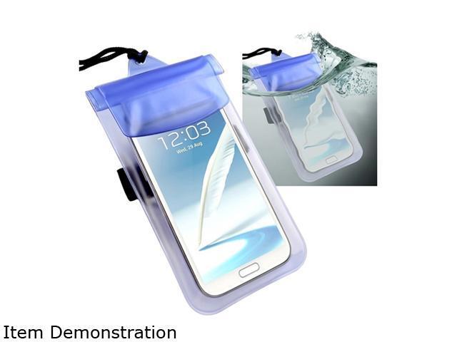Insten 2 packs of Blue PVC Waterproof bag Cases 1572673
