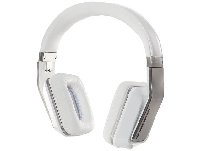 Monster White Inspiration Active Noise Cancelling Over-Ear Headphones 128794-00