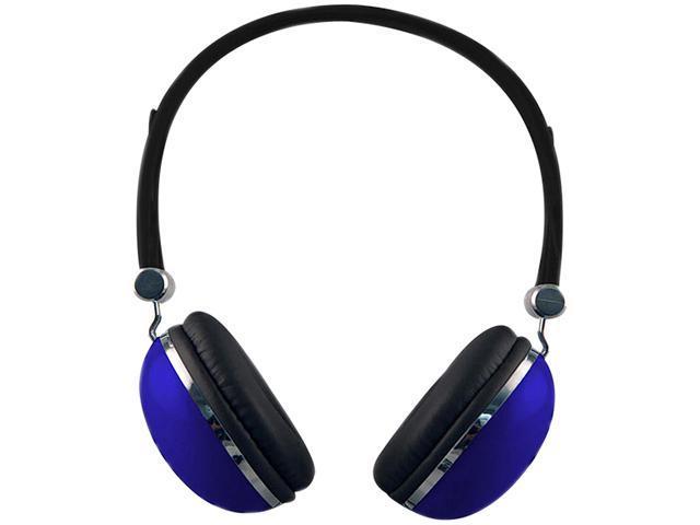 Sentry Blue 3.5mm Retro High Performance Stereo Headphones HO277